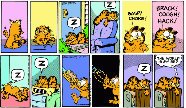 Half-Panelled Garfield