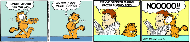 Garfield Minus Pudding Pops