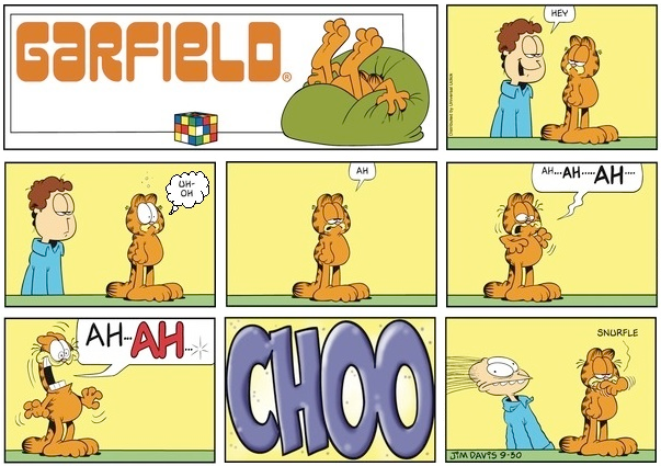 Garfield is Allergic to Jon