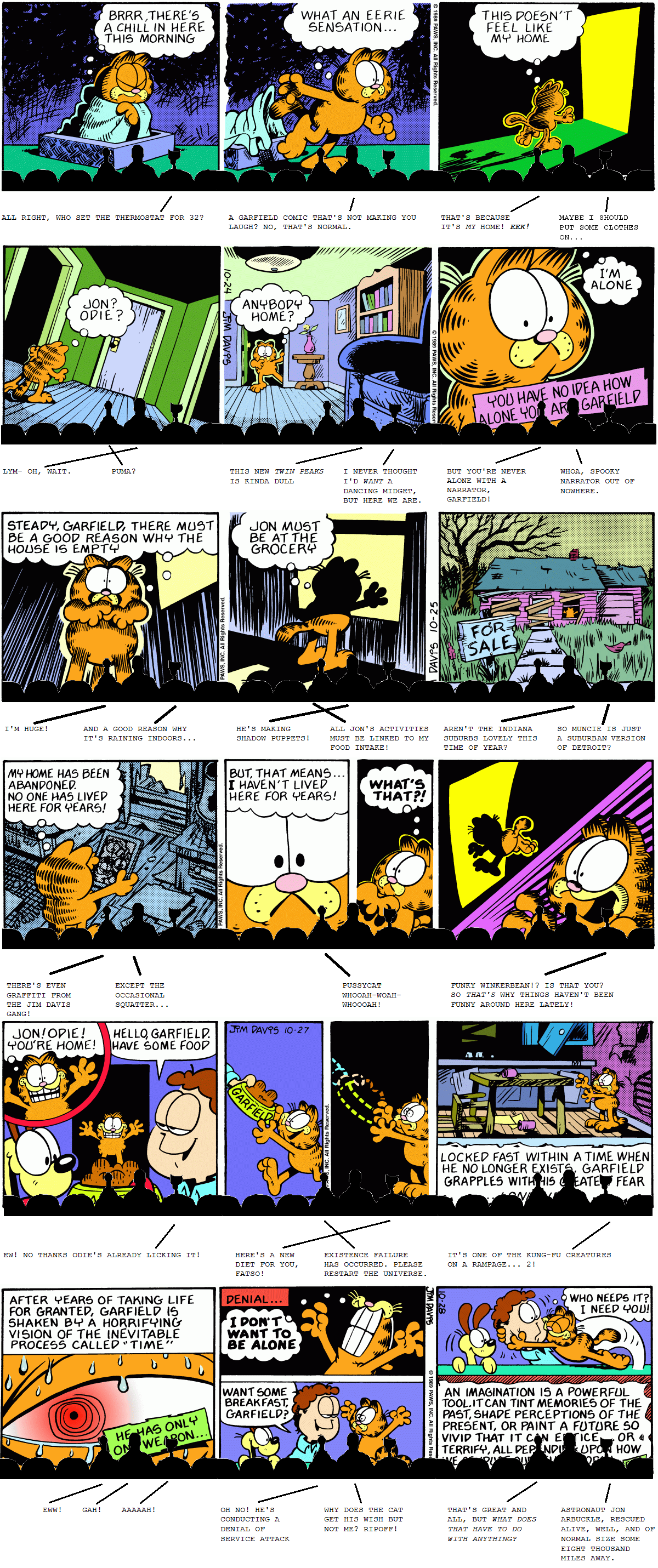 Mystery Science Garfield 3000
