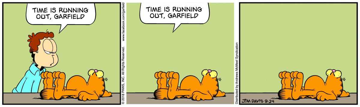 Garfield Minus Most of Time