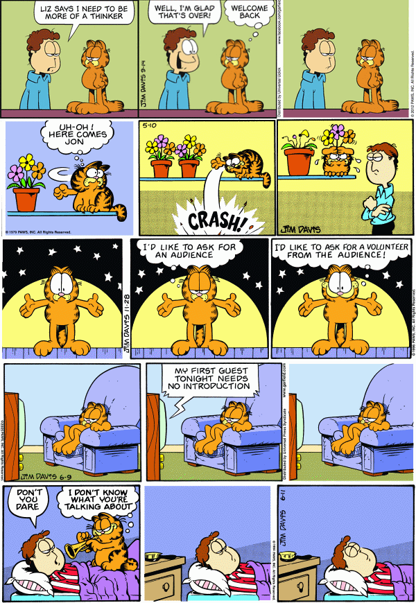 Permutations of Garfield