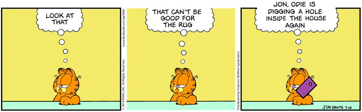Making Garfield Slightly Better and Worse